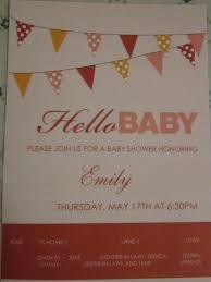 my blahg baby shower