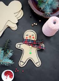 diy cardboard gingerbread men mer mag