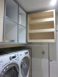 laundry room upper cabinets pull out storage cabinet pocket hole jig pocket hole and storage