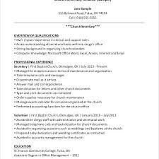 secretary objective for resume examples 3 job description law