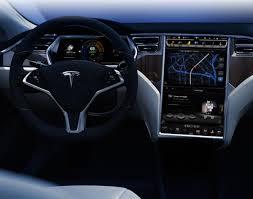 Tesla Interior Model S Tesla Model S
