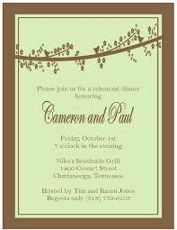 Wedding Rehearsal Dinner Invitations Templates Free 9 Best Southern Invitations Images On Pinterest Invitation