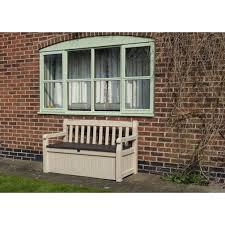Garden Storage Bench Bench Keter Plastic Garden Bench Box With Storage Keter Gal