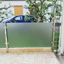 balkon sichtschutz aus glas sichtschutz terrasse panther glas ag