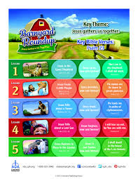 full lesson chart for barnyard roundup vbs 2016 free download pdf