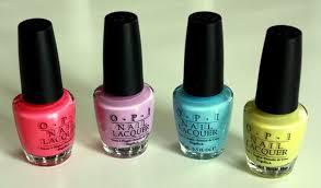 o p i summer 2010 colors