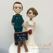 tasteful cakes by christina georgiou paramedic and teacher bride