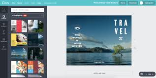travel brochures images Design travel brochure for any location for free with canva jpg