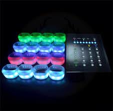 bracelet led images Remote radio controlled led bracelet rgb color light up wristband png