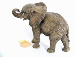 baby elephant sitting ornament by out of africa co uk