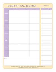 printable menu planner pages 118 best meal planning grocery list printables images on pinterest