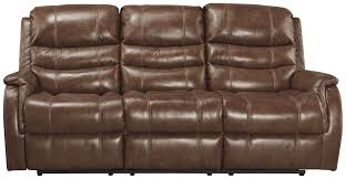 Ashley Furniture Power Reclining Sofa Reviews Metcalf Nutmeg Power Reclining Sofa From Ashley Coleman Furniture