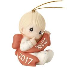 precious moments baby boy 2017 ornament