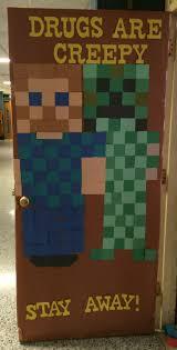minecraft ribbon minecraft ribbon door decorations ribbon week door