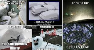 Snow Memes - 17 amusing images for those who love snow