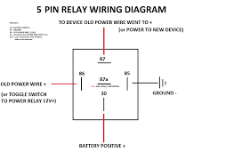 bosch relay wiring diagram 7 way trailer plug wiring diagram