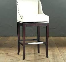 white bar stools with backs and arms bar stool with arms and back white counter stools with backs