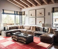 vintage industrial living room home decorating interior design