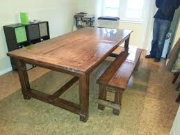 Farmhouse Table by Ana White Farmhouse Table With Epoxy Finish Diy Projects