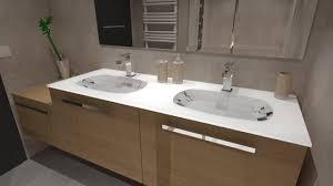cuisine contemporaine italienne salle de bain bois beige blanc gris avec italienne