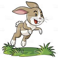 hopping bunny rabbit clipart bunny hopping pencil and in color rabbit clipart