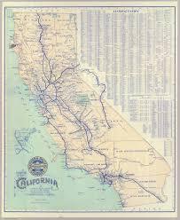 Railroad Map Usa by California Rail Map California Map