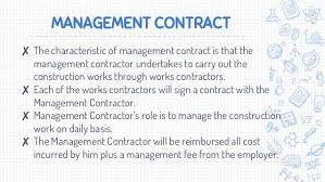 lecture 4 selection of contract forms