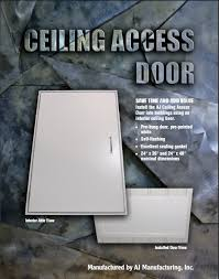 Ceiling Access Doors by Insulated Ceiling Access Door
