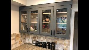 cheap glass kitchen cabinet doors diy kitchen glass doors