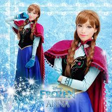 Anna Frozen Costume Dress Halterneck Picture More Detailed Picture About Frozen