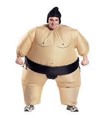 funny halloween sumo inflatable costume fancy dress