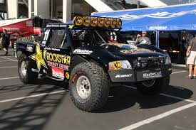 baja truck street legal 154 sema day 1 rockstar trophy truck rod network