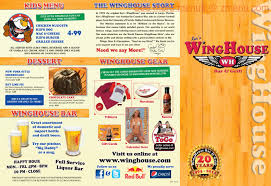 Winghouse by Online Menu Of Wing House Restaurant South Gate California