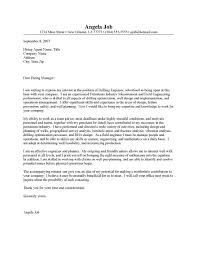 writing an engineering cover letter environmental engineer cover