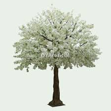 cherry blossom tree 350cm height artificial cream white cherry blossom trees dongyi