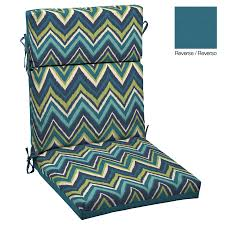 Lowes Garden Treasures Patio Furniture - shop garden treasures stripe cushion for universal at lowes com