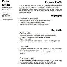 carpenter resume sample resume samples and resume help