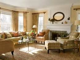 Fireplace In Living Room Furniture Arrangement With Wall Of - Furniture placement living room bay window