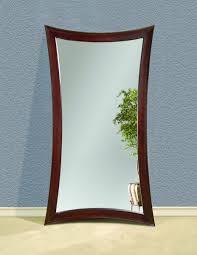 Hourglass Home Decor Hourglass Leaner Mirror Merlot Finish M2464ec Decor South