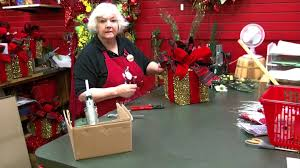 christmas place mesh box decorating youtube