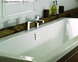 carrera designer rectangular double ended bath dbc carrdeb carrera designer rectangular double ended bath waste detail