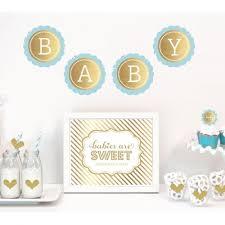 gold baby shower gold baby shower decor kit glitter baby shower decor kit gold