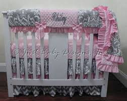 Small Crib Bedding Mini Crib Bedding Etsy