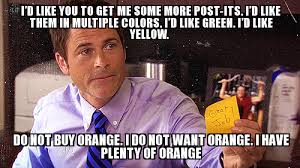 Meme Chris - chris traeger post its weknowmemes generator