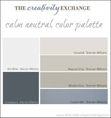 Color Combinations With Grey Office Craft Room Paint Color Palette Paint It Monday