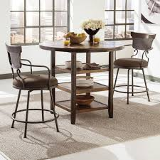 3 piece counter height table set signature design by ashley moriann 3 piece counter table set with