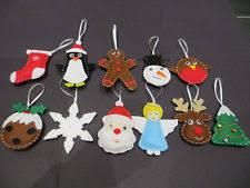 handmade christmas tree decorations ebay