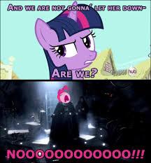Nooo Meme - big nooo my little pony friendship is magic know your meme