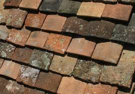 Reclaimed French Flat And Mission Barrel Roof Tiles French Oak