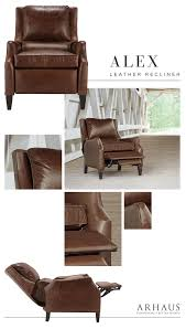 Livingroom Chair by Henredon Leather Recliner Recliners Living Room Furniture